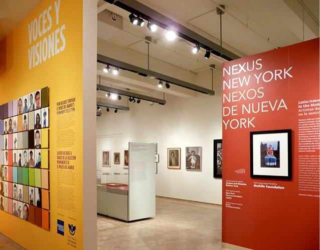 Exhibit design el Museo del Barrio