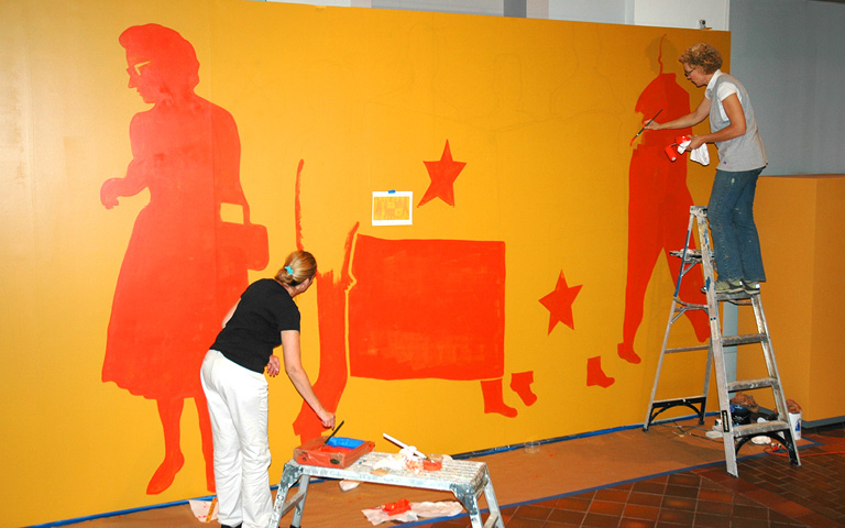 SLC Mural Painting