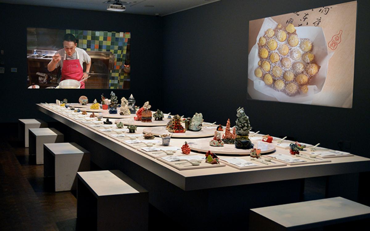 Chinese Food exhibit