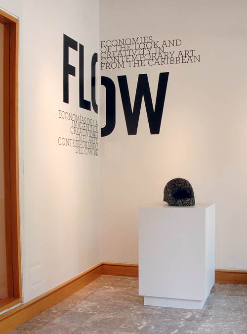 Art Exhibition Title wall