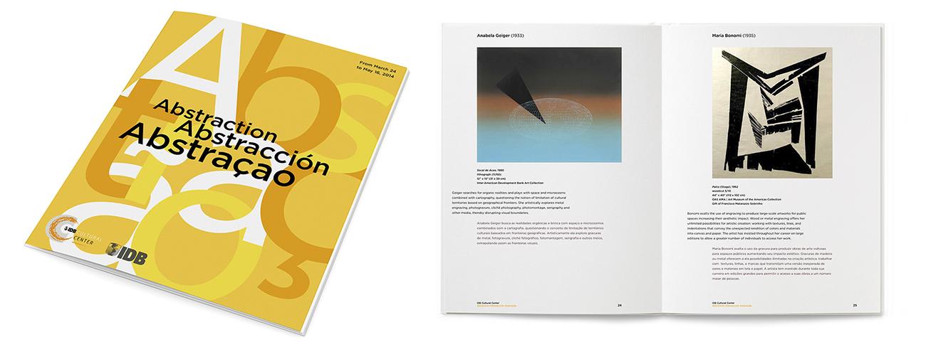 Exhibit catalog design
